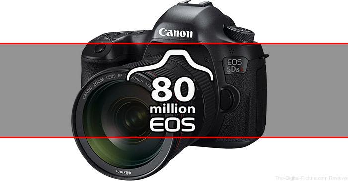 Canon Celebrates Production of 80 Million EOS Cameras