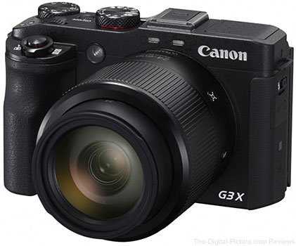Canon Announces Development of PowerShot G3 X