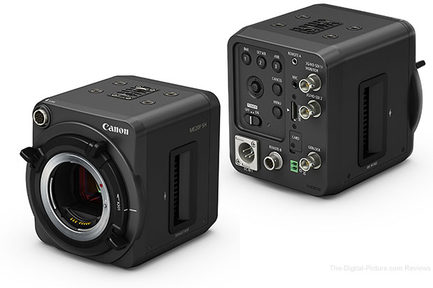 Canon Introduces Multi-Purpose Camera Featuring ISO Equivalent Of Over 4,000,000