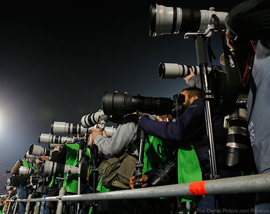 Canon at Copa America Tournament