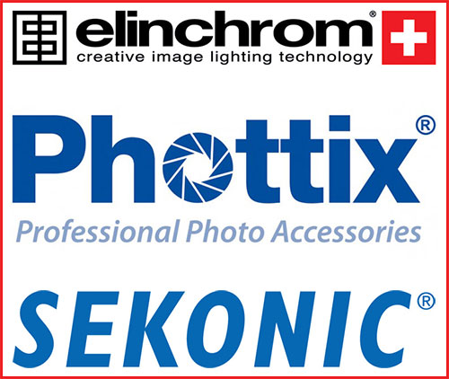 Elinchrom, Phottix and Sekonic form Technology Allliance