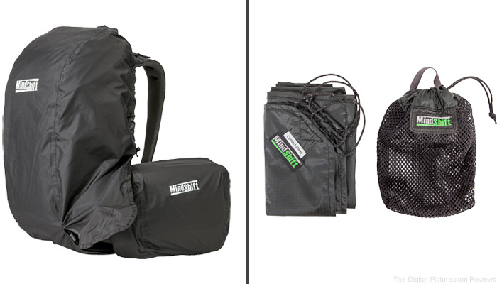 Get a Free Rain Cover or Contact Sheet with Purchase of MindShift Gear Backpack