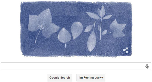Today's Google Doodle Honors Botanist Photographer Anna Atkins