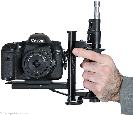 The-Digital-Picture.com's Left-Handed Camera Rig using Alzo Flash Bracket