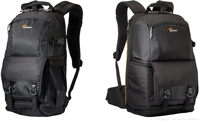 Lowepro Fastpack 150 and 250 AW II Backpacks