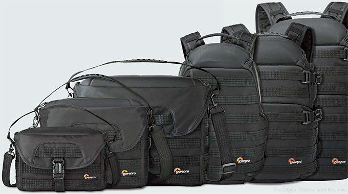 Lowepro Expands Award-Winning ProTactic Series
