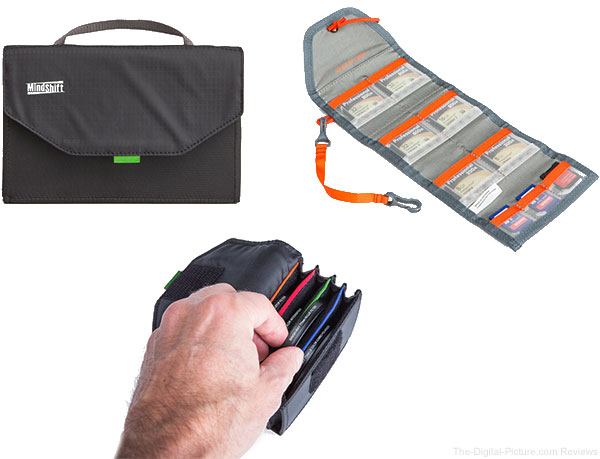 MindShift Gear Releases New Products for Storing Filters and Memory Cards