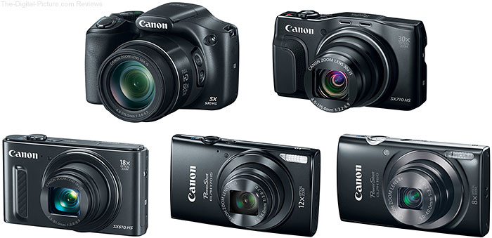 New Canon PowerShot Cameras Announced January 5, 2014