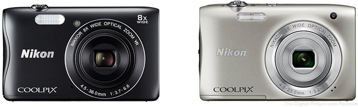 Nikon COOLPIX S3700 & S2900