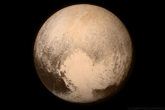 Pluto by New Horizons - July 14, 2015