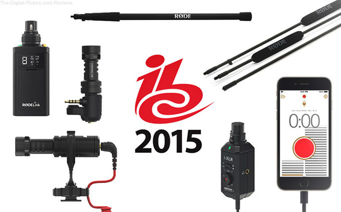 RØDE Announces Six new Products at IBC
