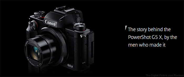 CPN Presents: The Story Behind the PowerShot G5 X