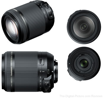 Tamron Launches 18-200mm f/3.5-6.3 Di II VC