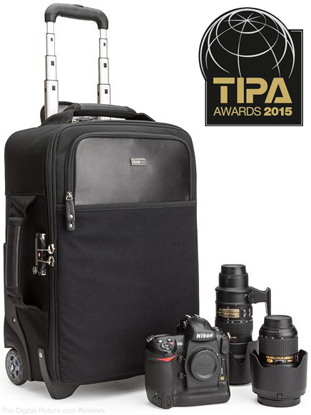 TIPA Recognizes TTP 10th Anniversary Airport International LE as the Classic Rolling Camera Case of 2015