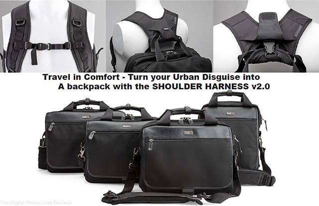 Buy a TTP Urban Disguise Bag & Get a Free Shoulder Harness v2.0