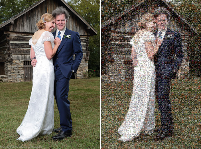 Photomosaics: An Easy Way to Add Value to Your Wedding Packages