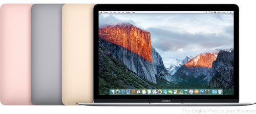 Apple Updates MacBook with Latest Processors, Longer Battery Life & New Rose Gold Finish