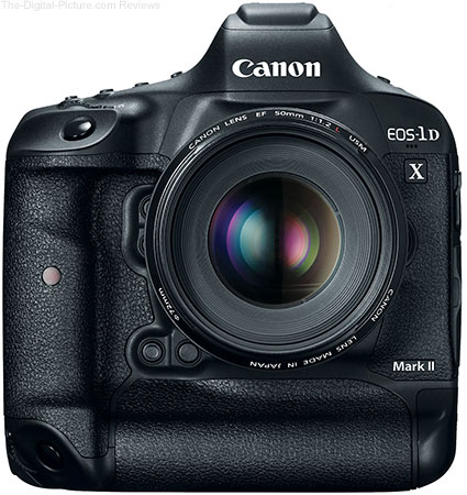 Canon Announces Its New Flagship, Full-Frame DSLR – Meet the EOS 1D X Mark II