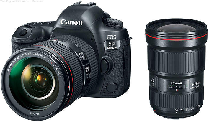 Canon Announces EOS 5D Mark IV and New L-Series Lenses
