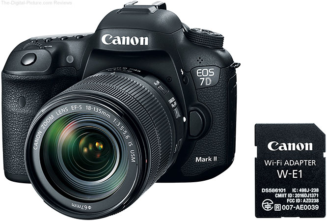 Canon Announces New Canon EOS 7D Mark II Kit Featuring New Wi-Fi Adapter