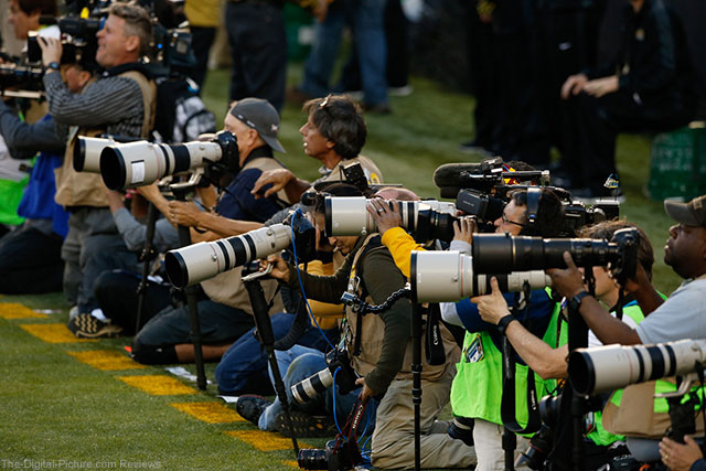 Canon Lenses Dominate Sidelines at Super Bowl 50; the 1D X II Makes Its Public Debut