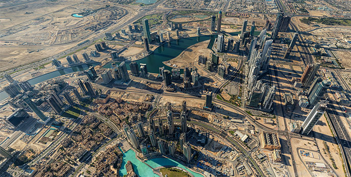 See Dubai in the Glory of 45 Gigapixels