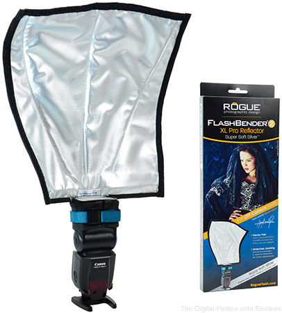 Rogue Introduces FlashBender 2 XL Pro Super Soft Silver Reflector