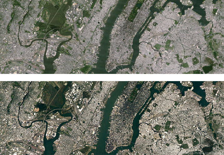Google Earth Updated with Higher Resolution Imagery
