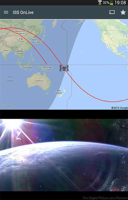 Seeing the World from Orbit: ISS onLive