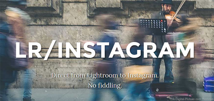 Upload Directly to Instagram from Lightroom with New Plugin