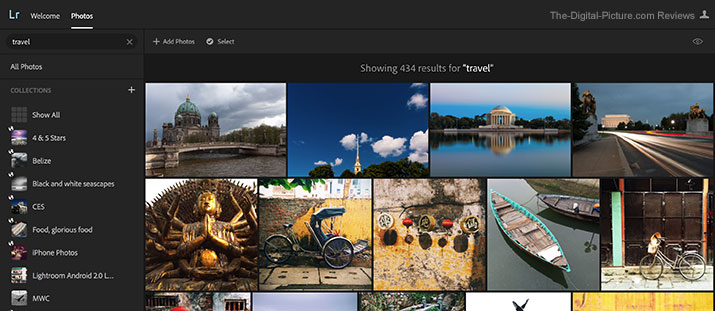 Adobe Introduces Technology Previews and Search in Lightroom on the Web