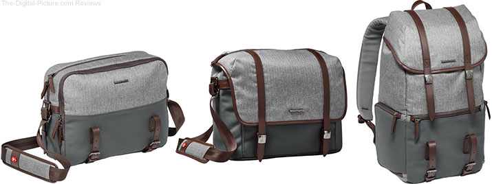 Manfrotto Announces the Windsor Collection Camera Bags