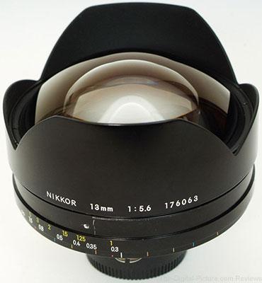 Rare Nikon 13mm f/5.6 for Sale on eBay