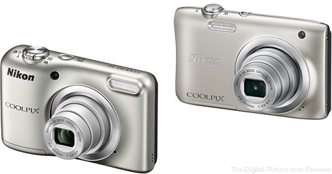 Nikon Announces COOLPIX A100 / A10 Digital Cameras