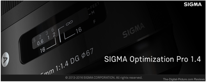 Sigma Optimization Pro 1.4.0 Now Available