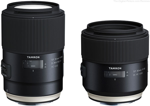 Tamron Announces 90mm VC Macro Update and All New 85mm f/1.8 VC