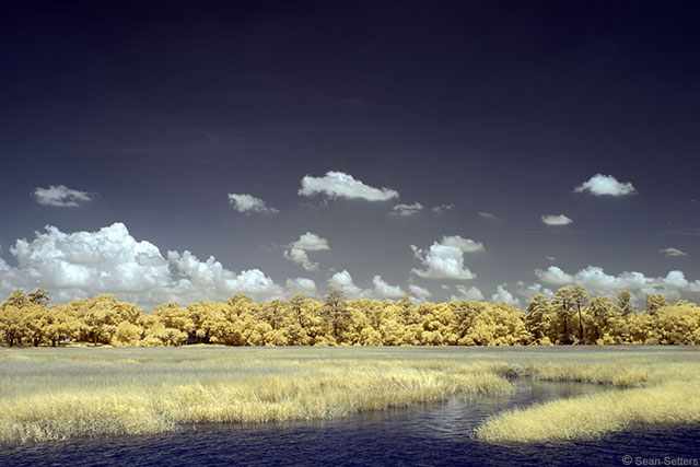 Wilmington River in Super Color IR
