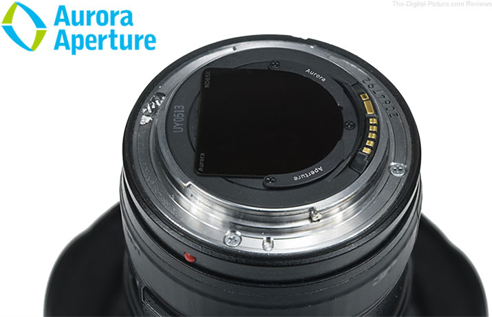 Aurora Aperture Introduces PowerND Family and an Industry First Rear Mount Glass Filter for Canon EF 11-24mm F4L USM