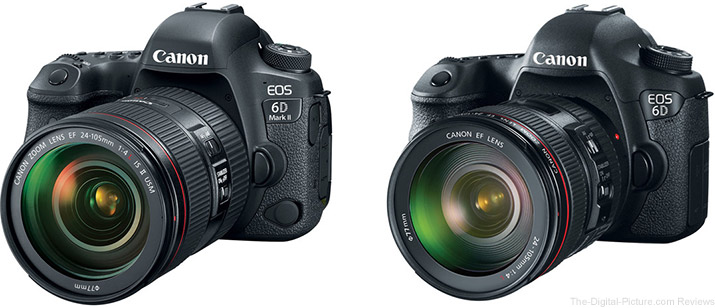 Should I get the Canon EOS 6D Mark II or the EOS 6D?