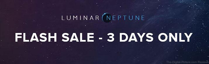 Luminar Flash Sale – 3 Days Only