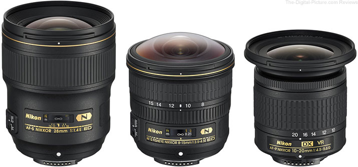 Nikon Announces Three New Wide-Angle NIKKOR Lenses