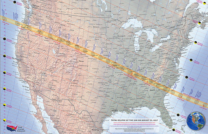 Start Preparing Now: Solar Eclipse – August 21, 2017