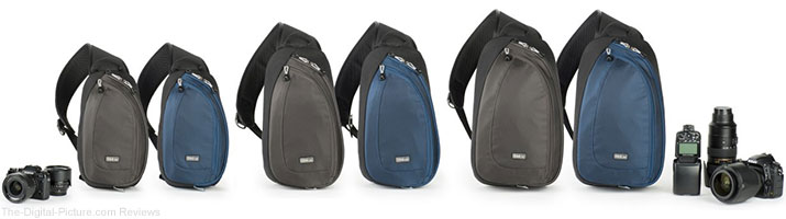 Think Tank Photo's Upgraded TurnStyle V2.0 Camera Bags Offer Greater Stability