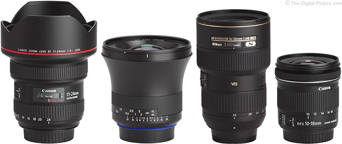 What is a wide angle lens?