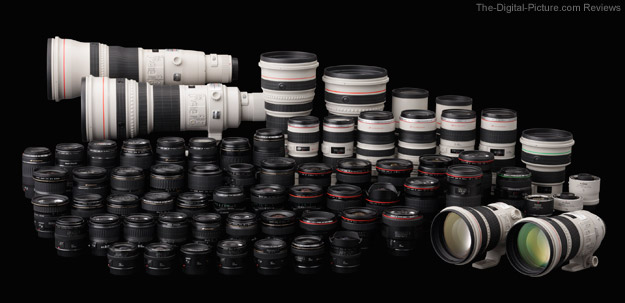 Canon EF Lens Collection