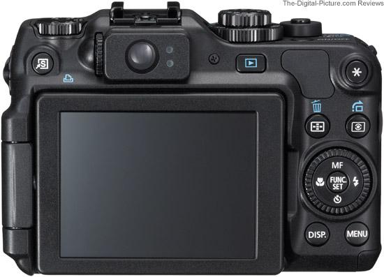 Canon PowerShot G12 Back