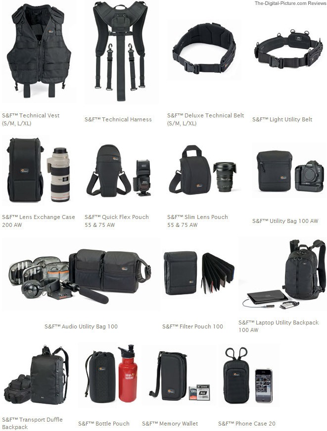 Lowepro S&F Modular Carrying System