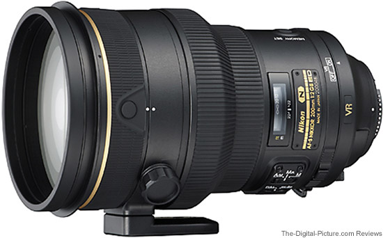Nikon 200mm f/2G IF-ED AF-S VR II Nikkor Lens