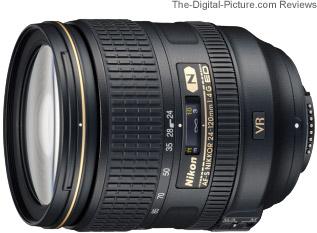 Nikon 24-120mm f/4G ED AF-S VR Lens