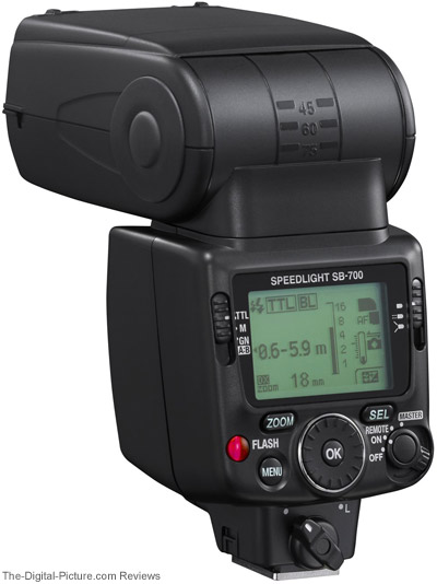 Nikon Speedlight SB-700 Back